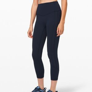 Lululemon All the Right Places Crop Luxtreme Navy